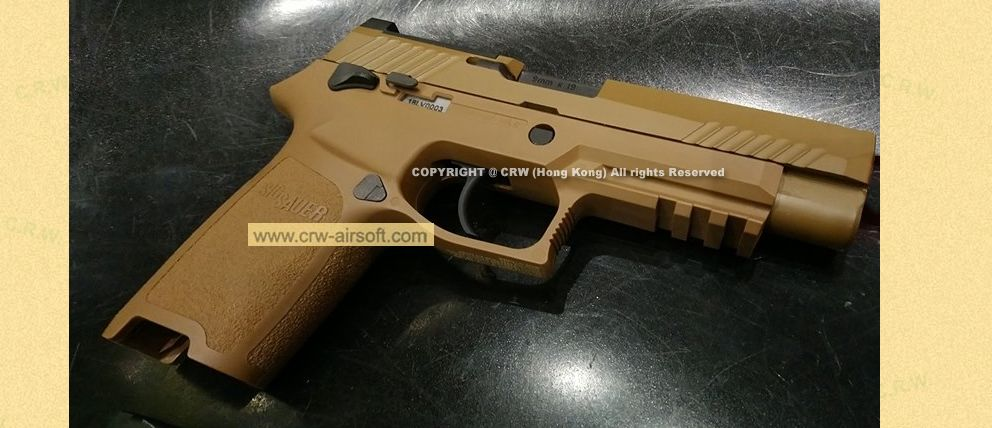 SIG SAUER Licenced M17 P320 6mm gas mag version